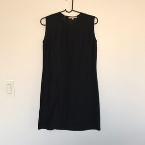 Nili Lotan black silk dress